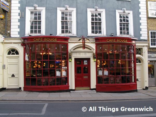 Cafe Rouge 16 18 Montpelier Vale London Se3 0ta