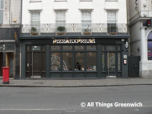Pizza Express 4 Greenwich Church Street London Se10 9bg