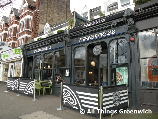 Pizza Express 64 Tranquil Vale London Se3 0bn Pizza