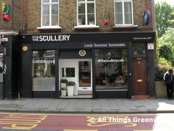 Scullery Cafe Menu
