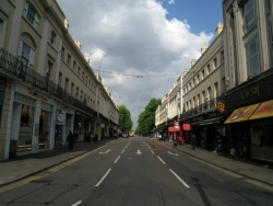 Shopping Streets In Greenwich Town Centre